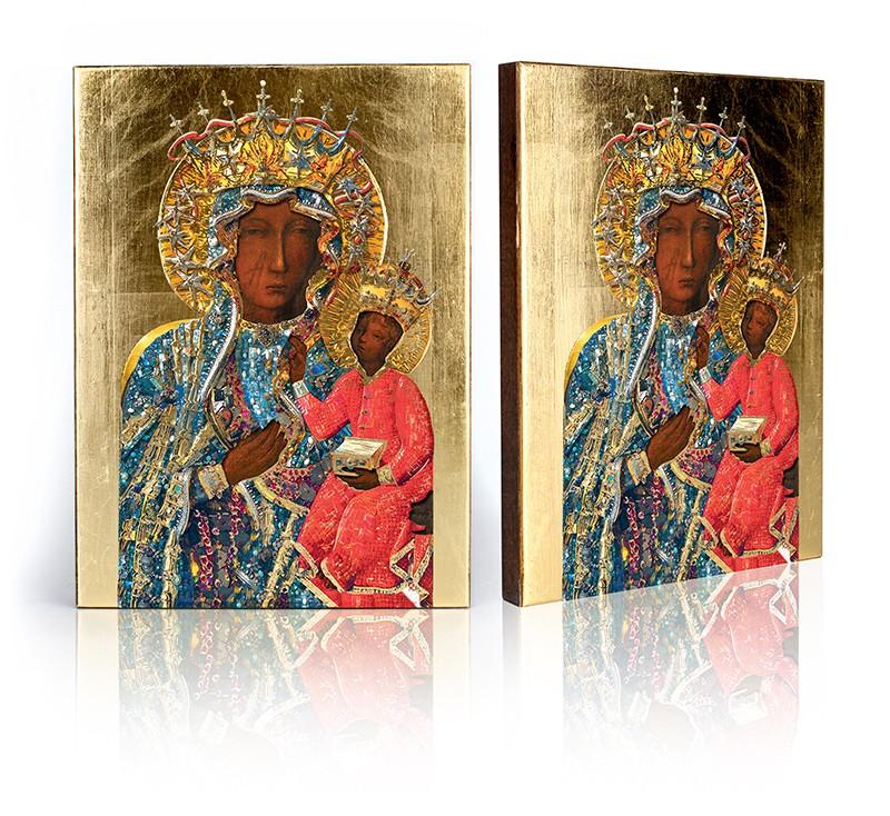 Ikona Matka Boaha Czestochowa 3108 Veľkosť E
