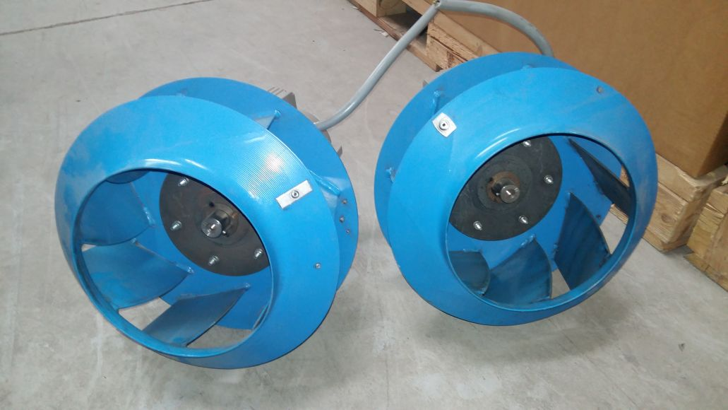 Radiálny ventilátor ABEGG ER56C 7500 M3 / H