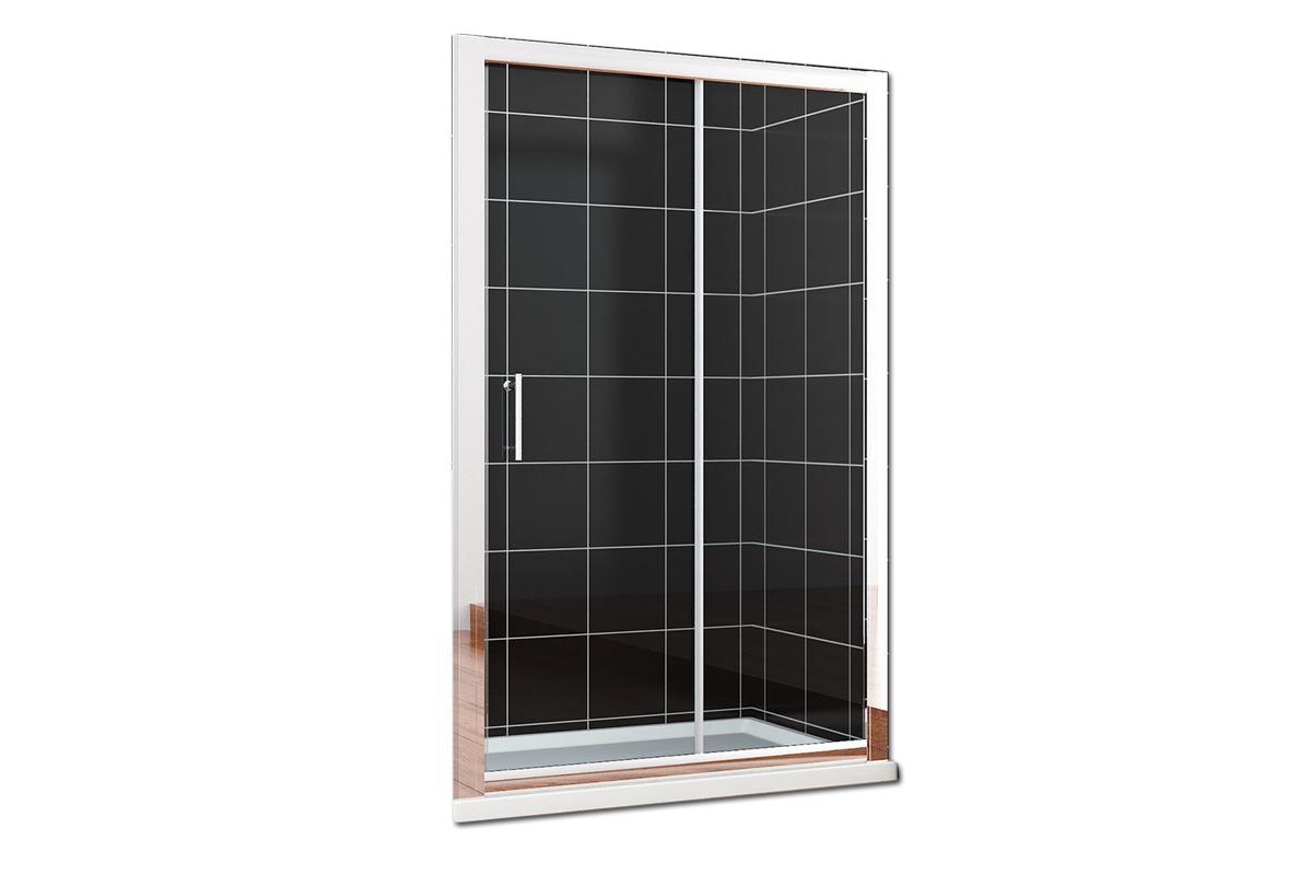 5mm POSUVNÉ Sprchové dvere 105 reg. 104-107cm