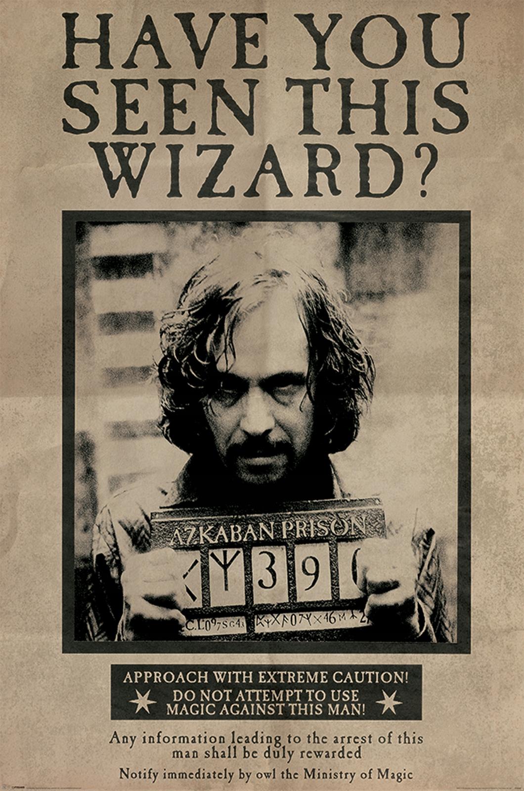 Harry Potter Siriusz Black - plagát 61x91,5 cm