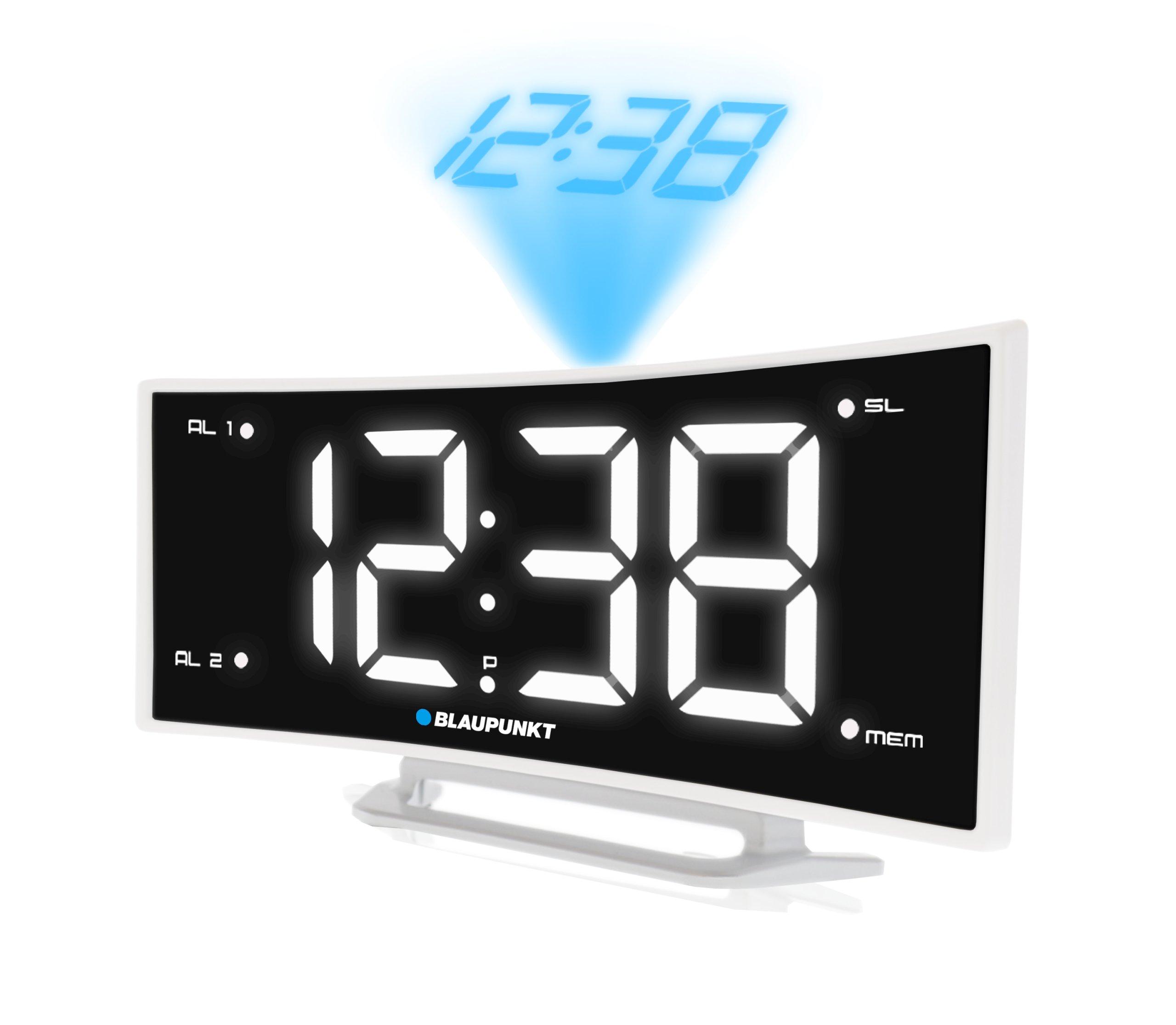 Радиобудильник с USB-проектором Blaupunkt CRP7WH