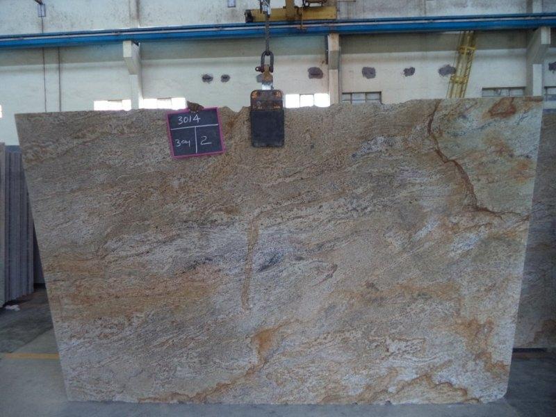 Doska žula Golden Beach vrstiev. 3 cm
