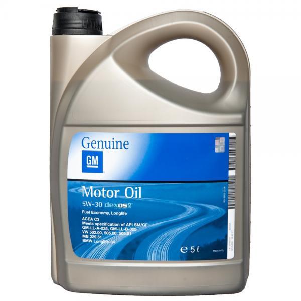 OIL OPEL GM 5W30 5L DEXOS2