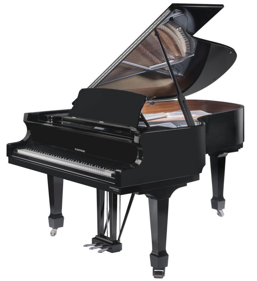 Piano W. Hoffmann P 206 - čierny lesk