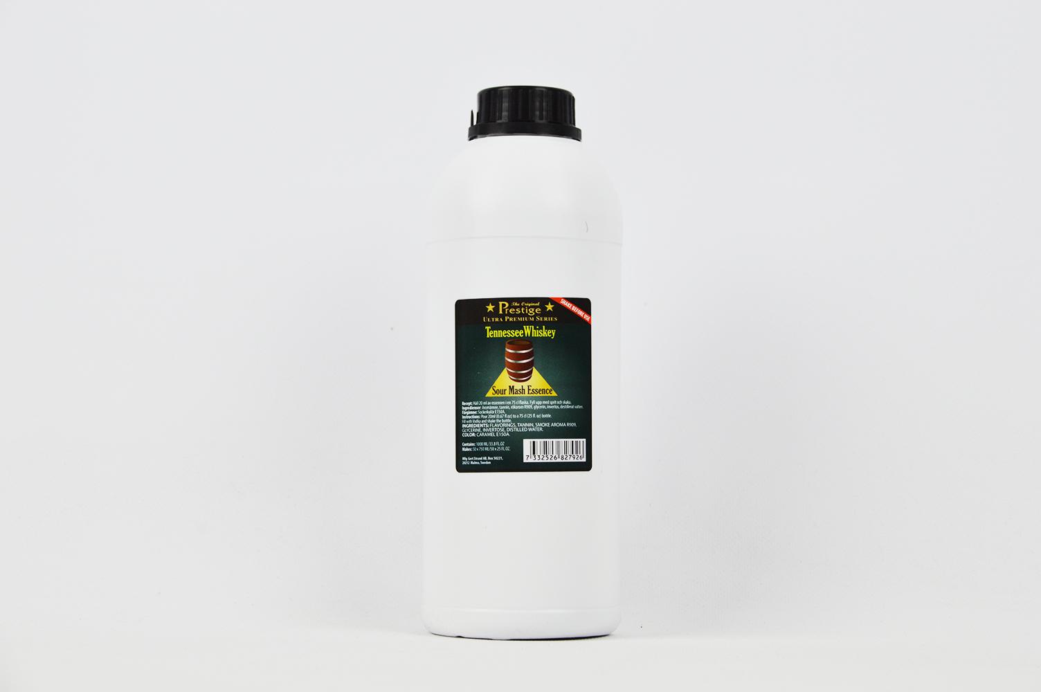 Podstatou alkoholu TENNESSEE WHISKEY 1L 37,5 L