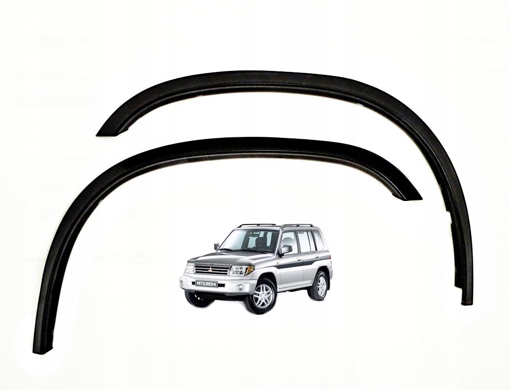 mitsubishi pajero pinin планка накладки колесные арки x4