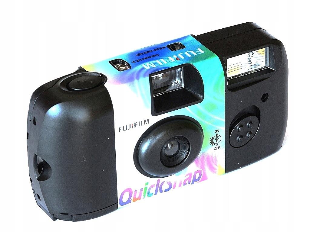 Fuji jednorazový fotoaparát QUICKSNAP FLASH 27 Dovolenka