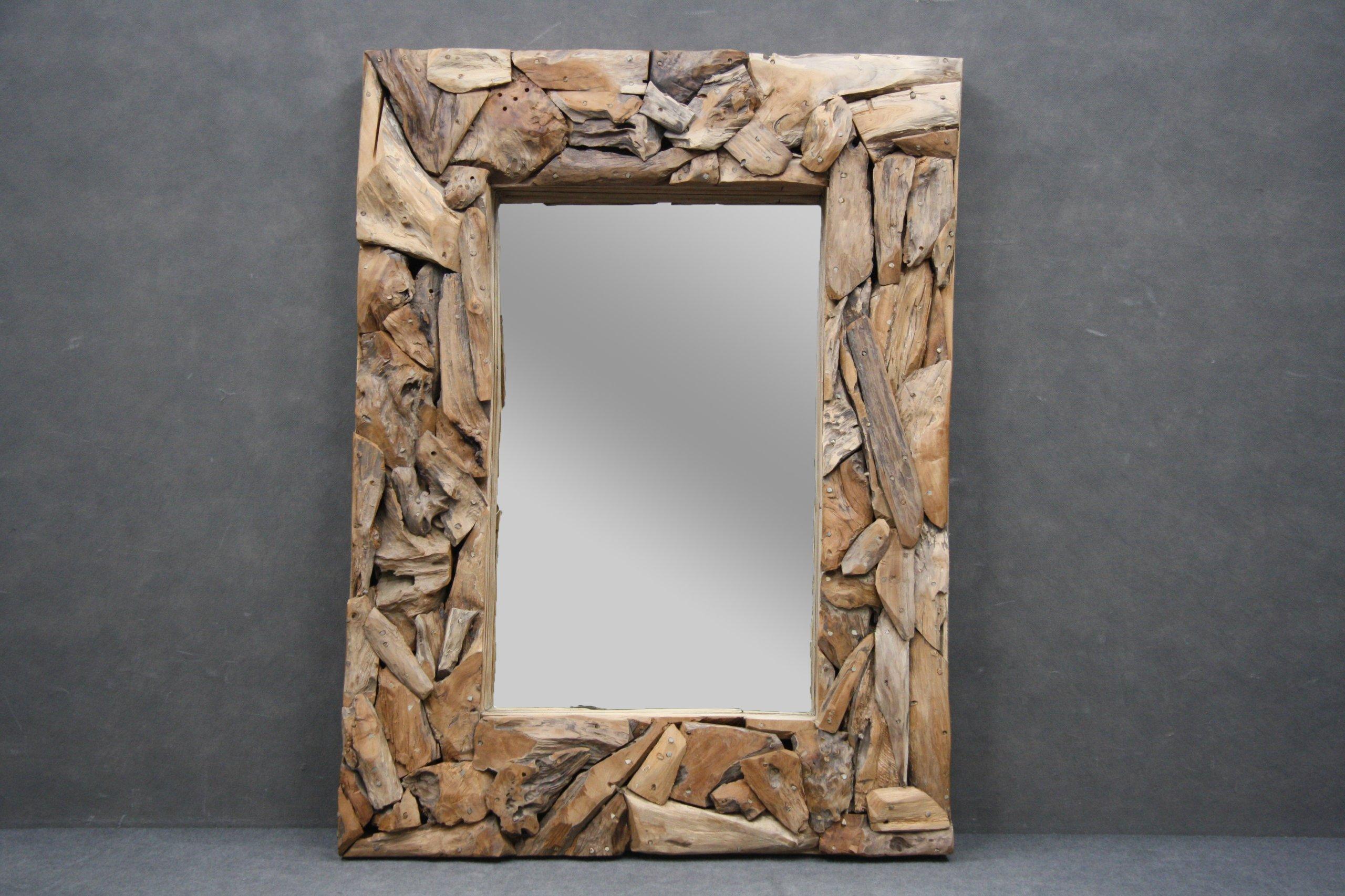 Zrkadlo Rámu, Drevený, Jedinečný Dizajn Loft Vintage