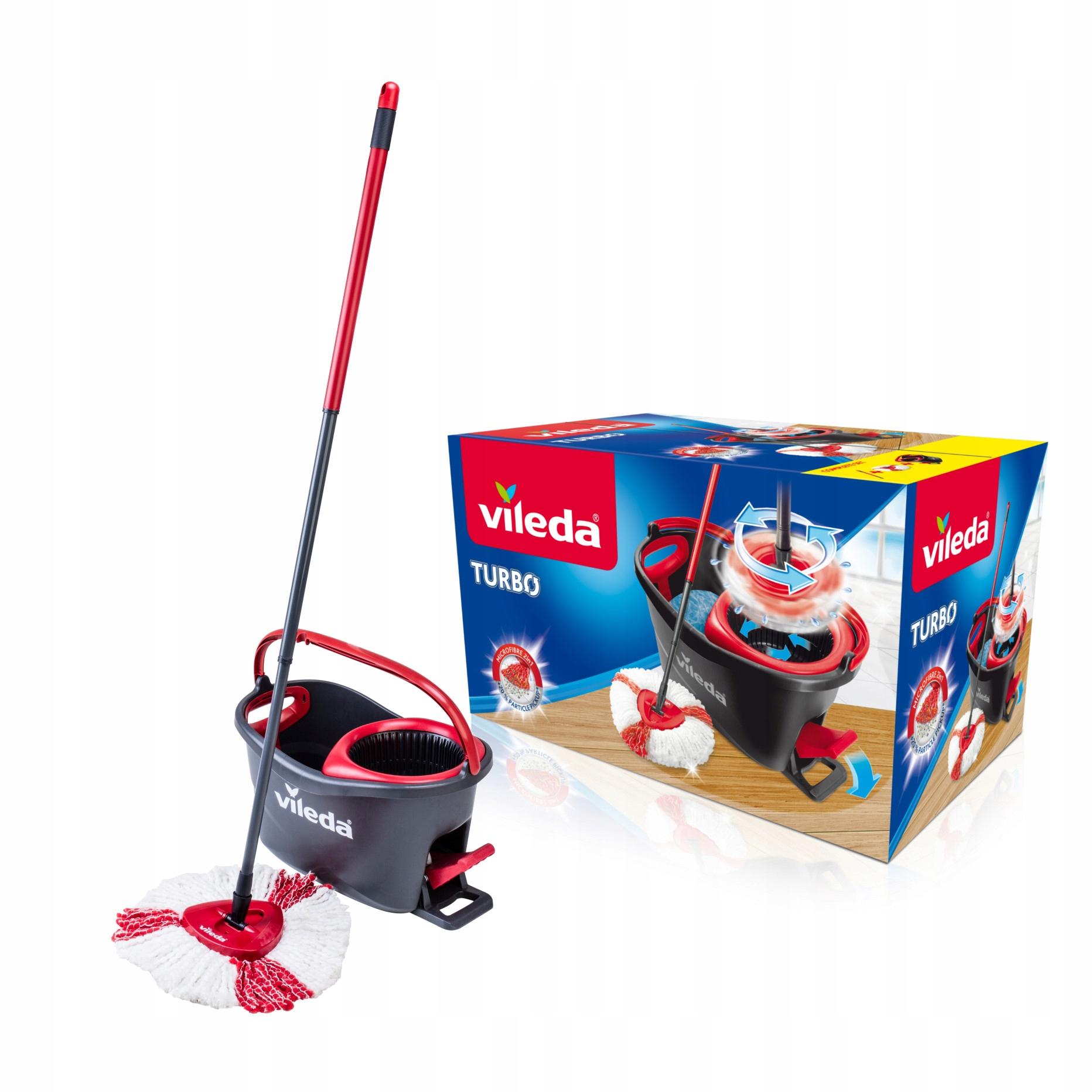 Mop obrotowy Vileda Easy Wring & Clean TURBO