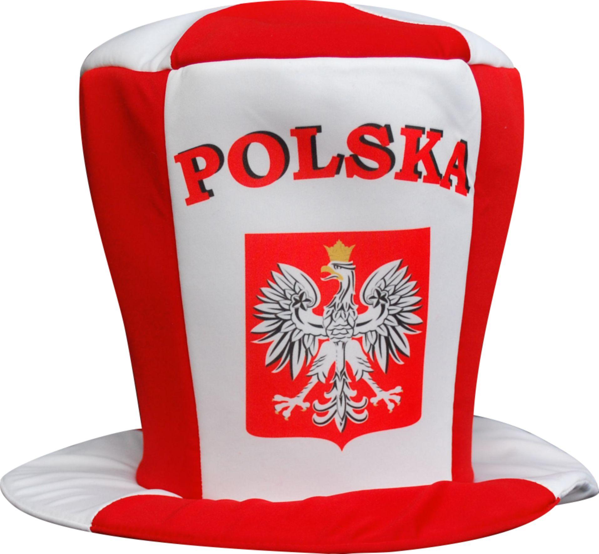 Valcový ventilátor Poľsko Cap White-Red Embblem