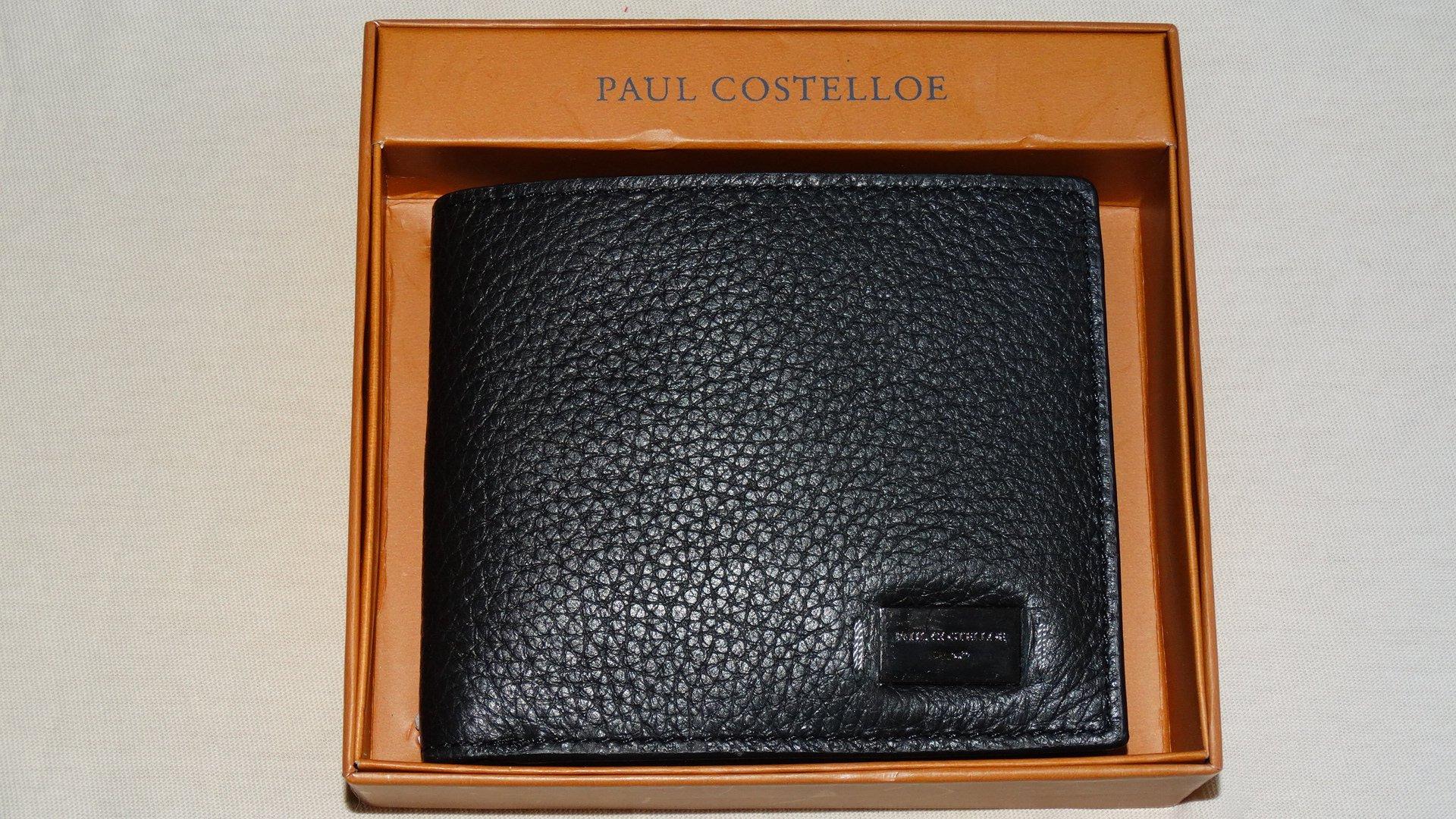 2e7bf248c8fb5 Portfel PAUL COSTELLOE czarny nowy z opakowaniem 7757214152 - Allegro.pl