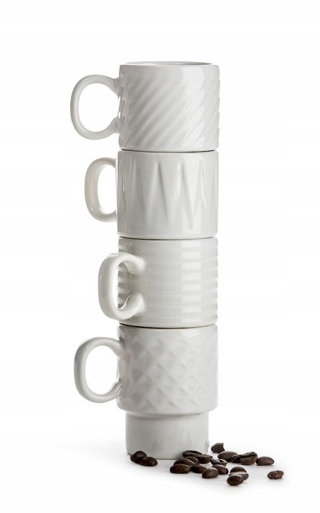 SAGAFORM retro espresso šálky, 4 ks darček