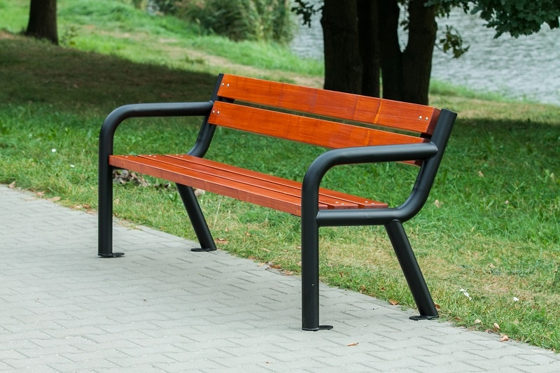 Lavica, mesto, Park, záhrada 184 cm Viking