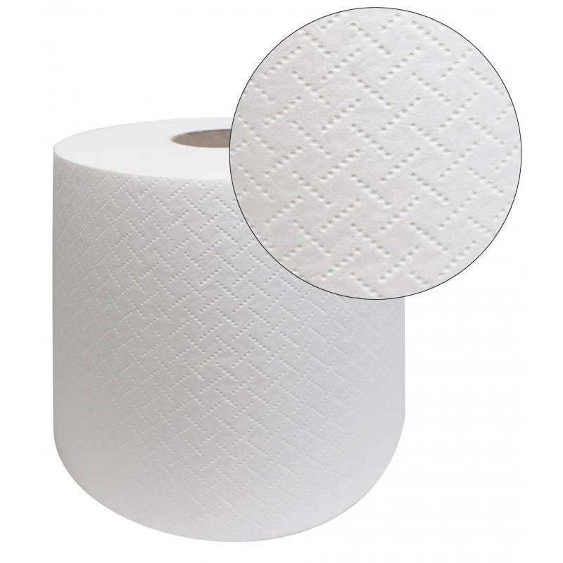 Бумажные полотенца MAXI 100% целлюлоза 6 шт белые