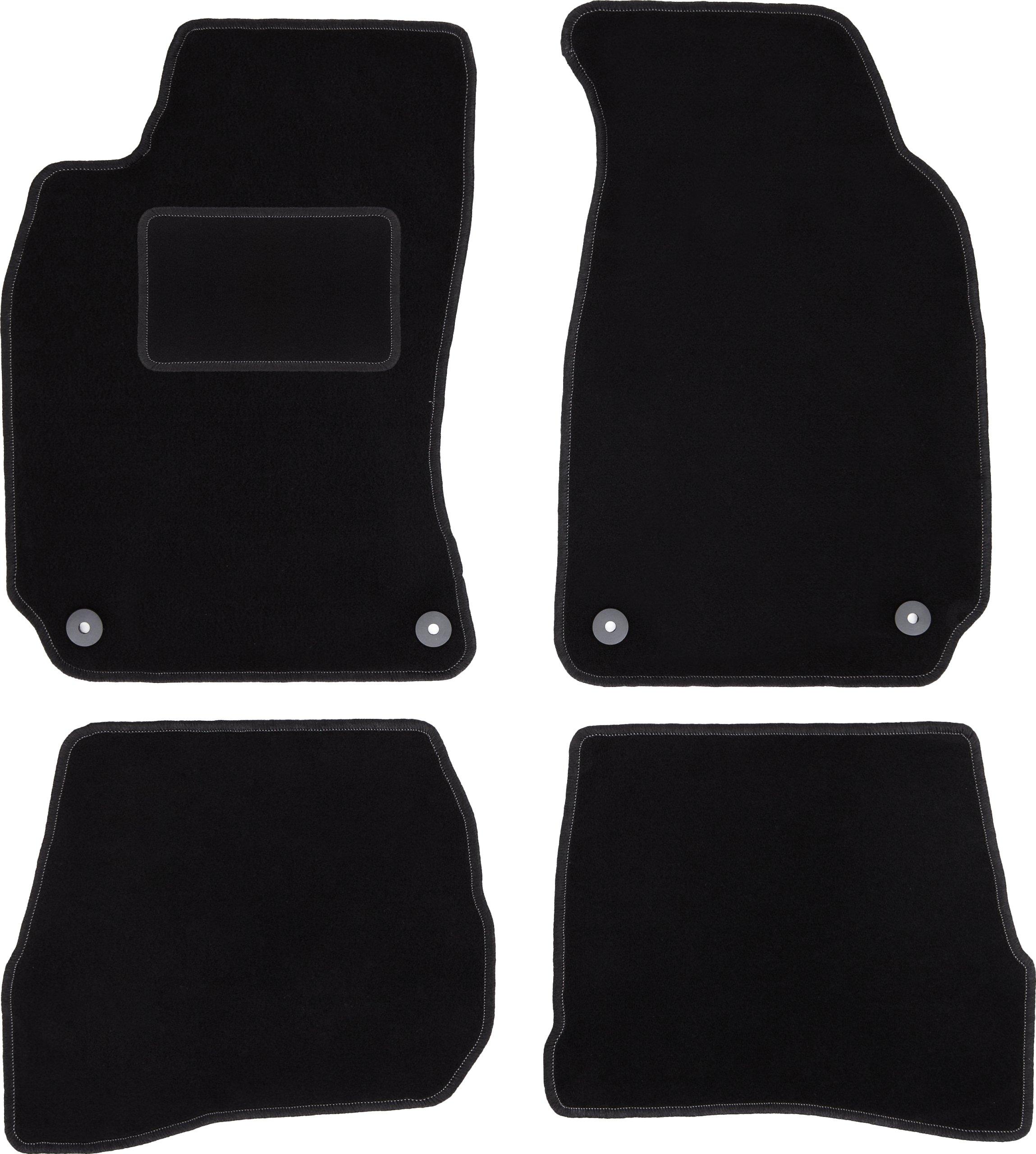 dywaniki CARLUX czarne do VW Passat B5 / B5 FL