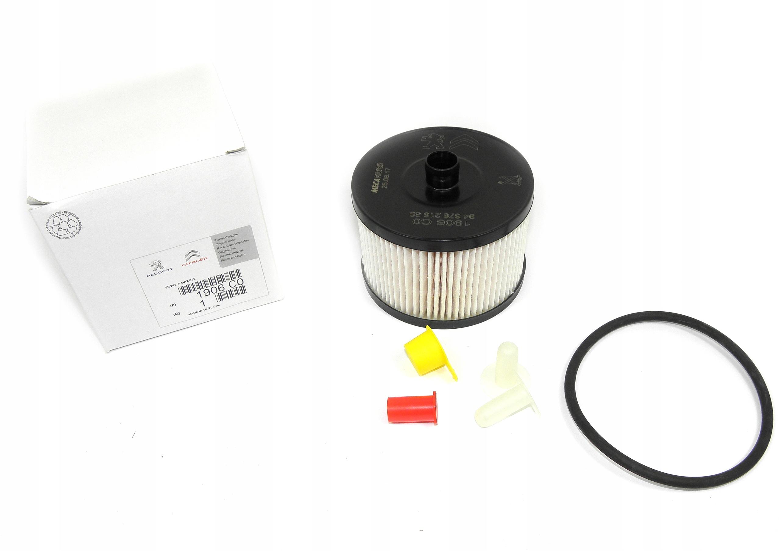 фильтр топлива peugeot 307 308 20 hdi 16v 1906c0
