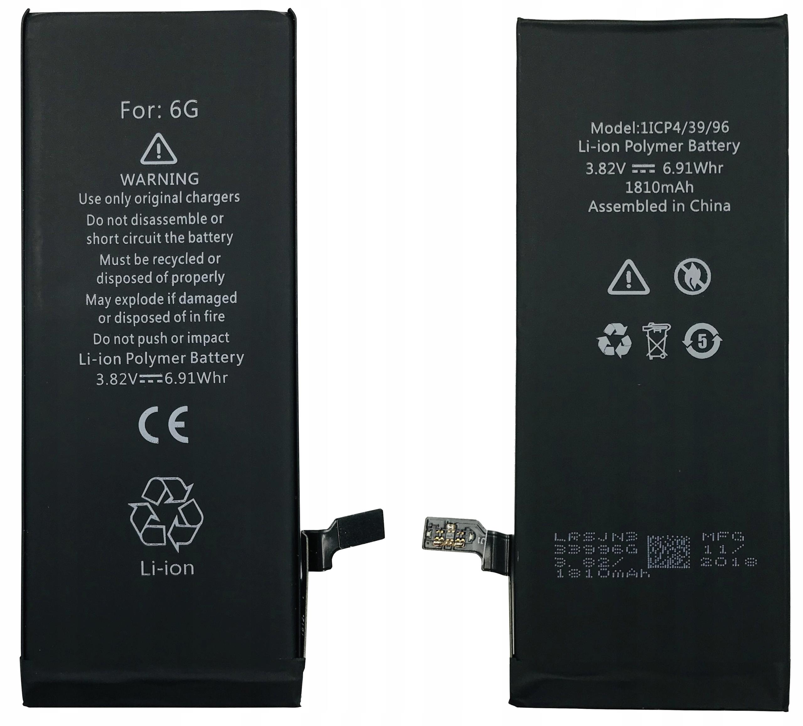 Батарея 100% ОРИГИНАЛ iPhone 6 1810 мАч КАЧЕСТВО!