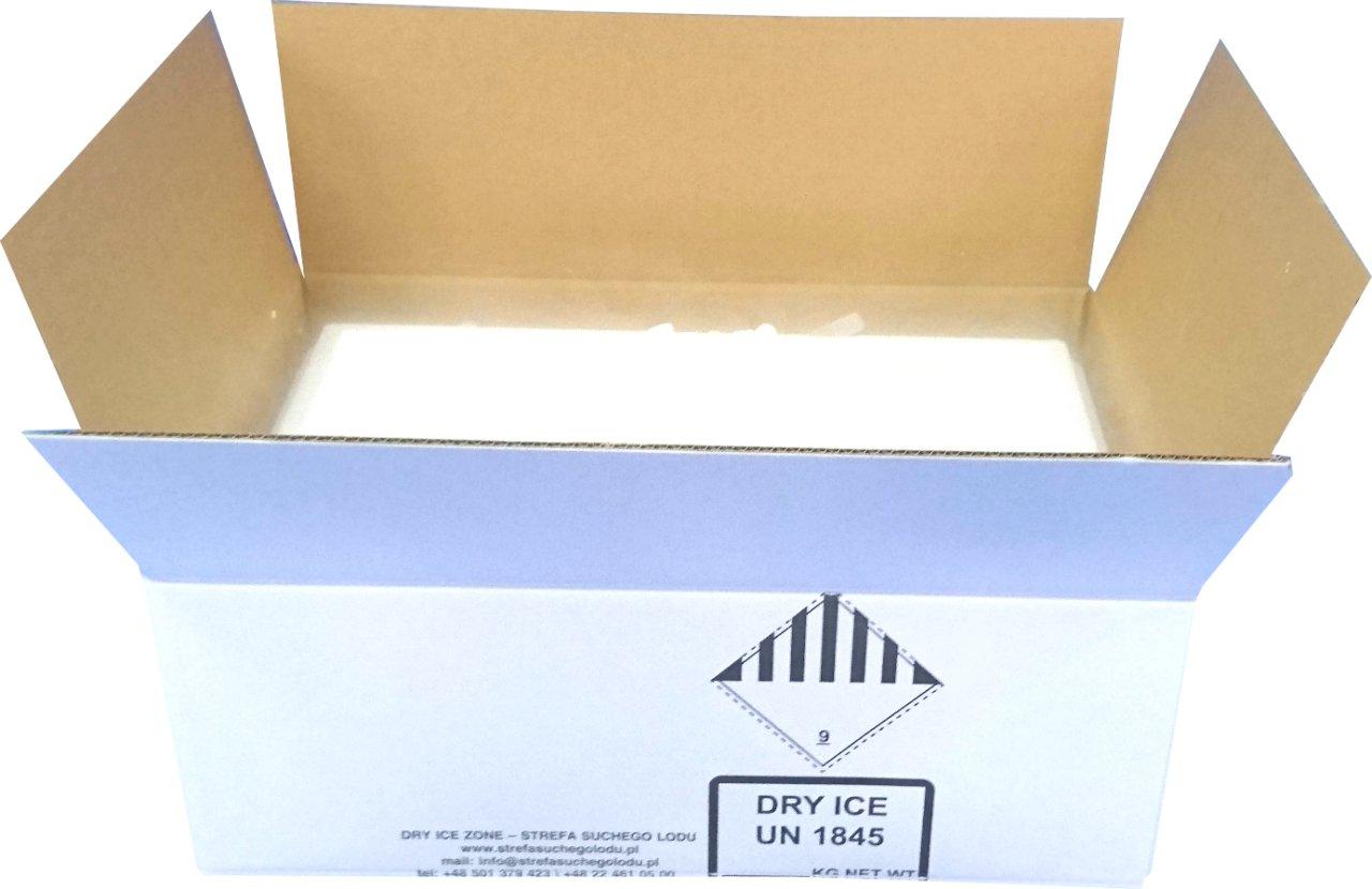Купить СУХОЙ ЛЕД - 20 кг гранулы fi16 мм + Styrobox на Otpravka - цены и фото - доставка из Польши и стран Европы в Украину.