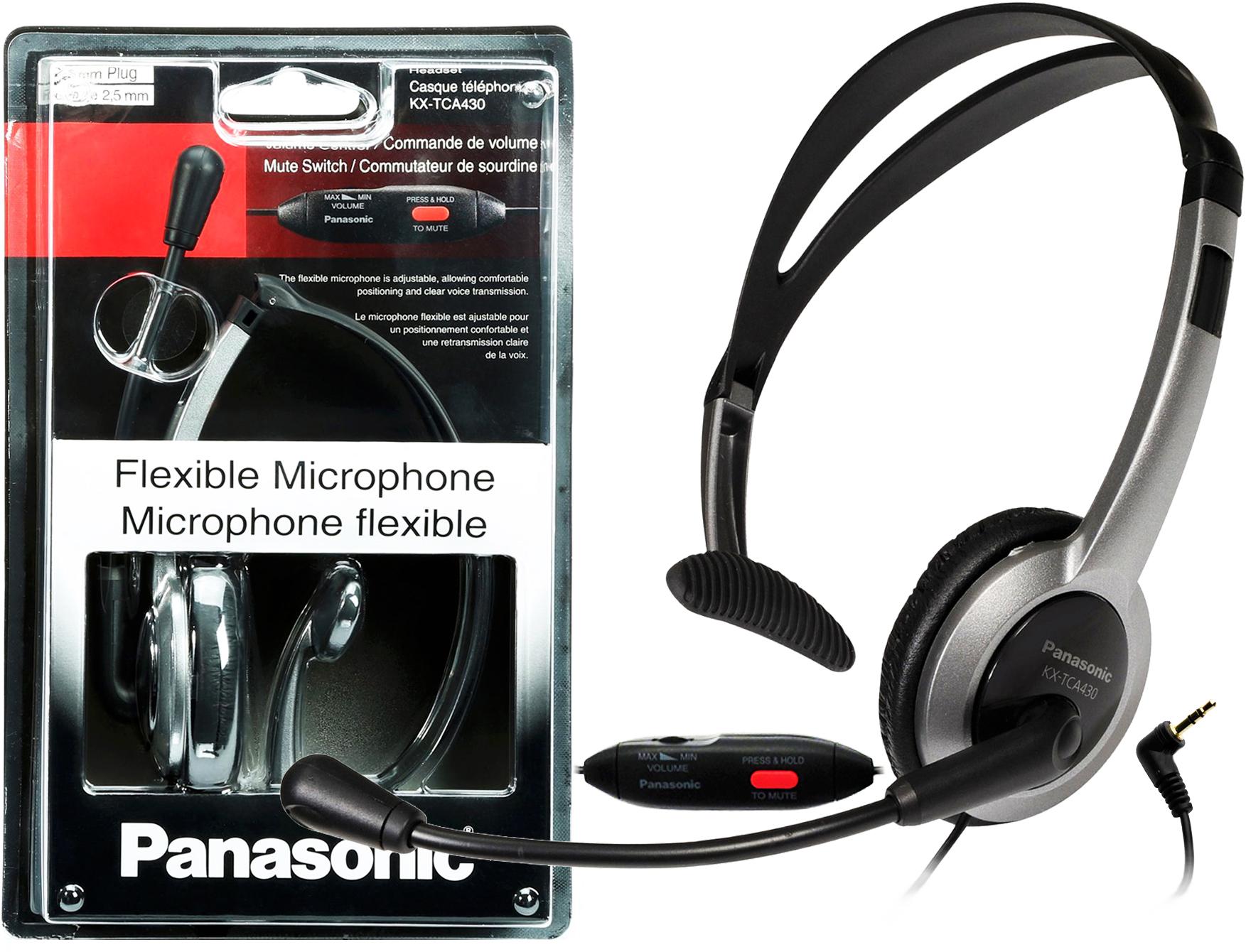 Panasonic KX-TCA430 Call Center Slúchadlá