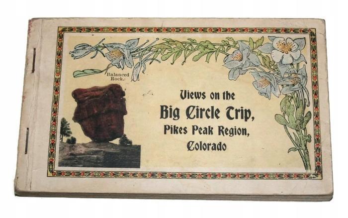 Veľký kruh Trip Pikespeak Region Colorado 1921