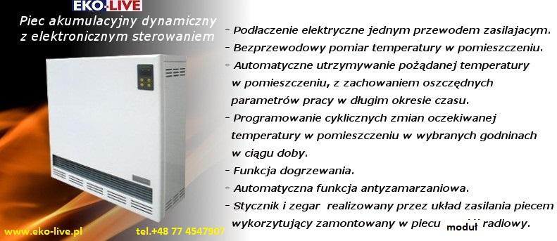 Najmodernejšia akumulačná pec s výkonom 4 kw v E.U.