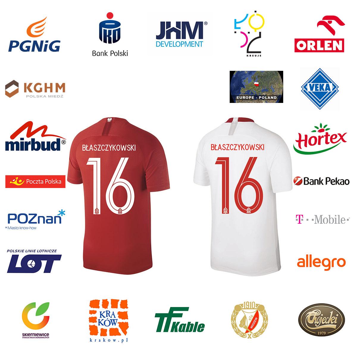 Koszulka Nike Polska BŁASZCZYKOWSKI 16 size S