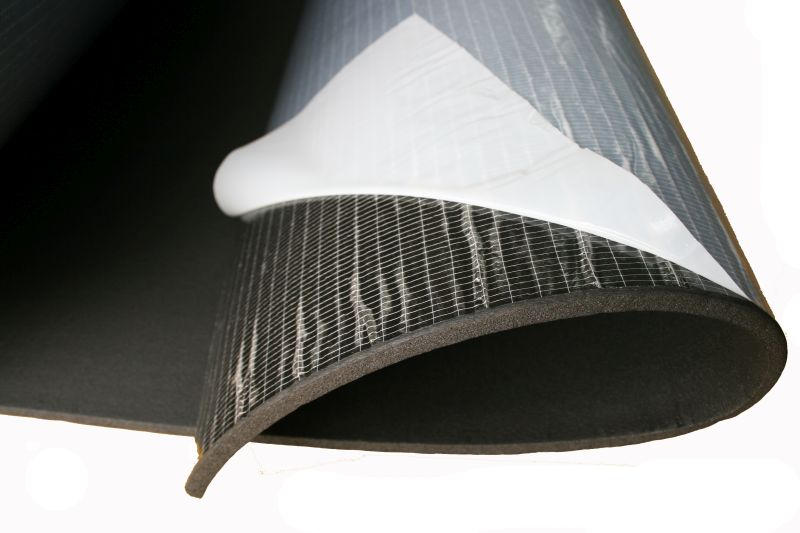 коврик акустическая пена wygłuszająca z клеем 6mm