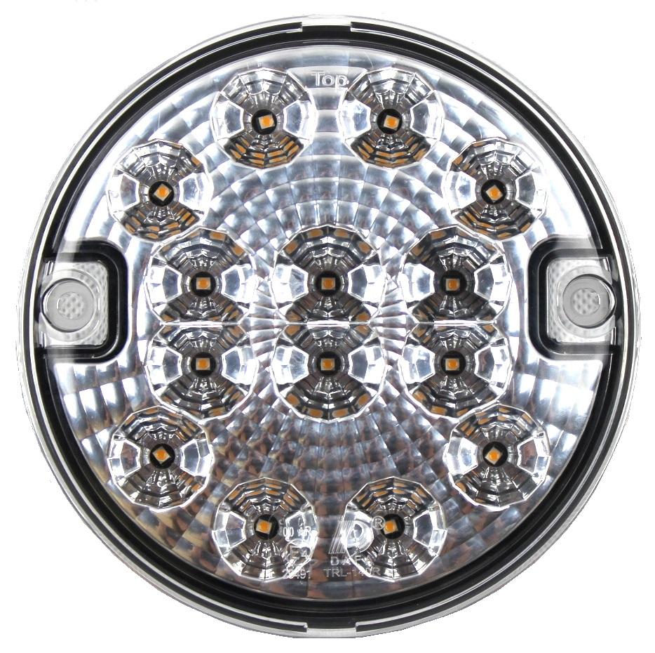 лампа мост заднего вида led круглая 1224v