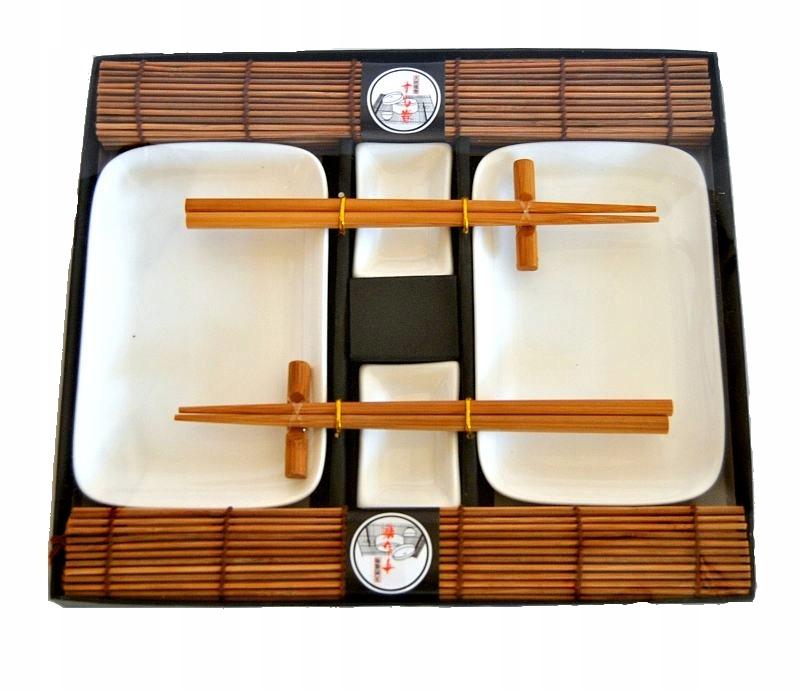 Nastaviť Sushi Keramiky-Hnedá, Pre 2 Osoby Ako Darček