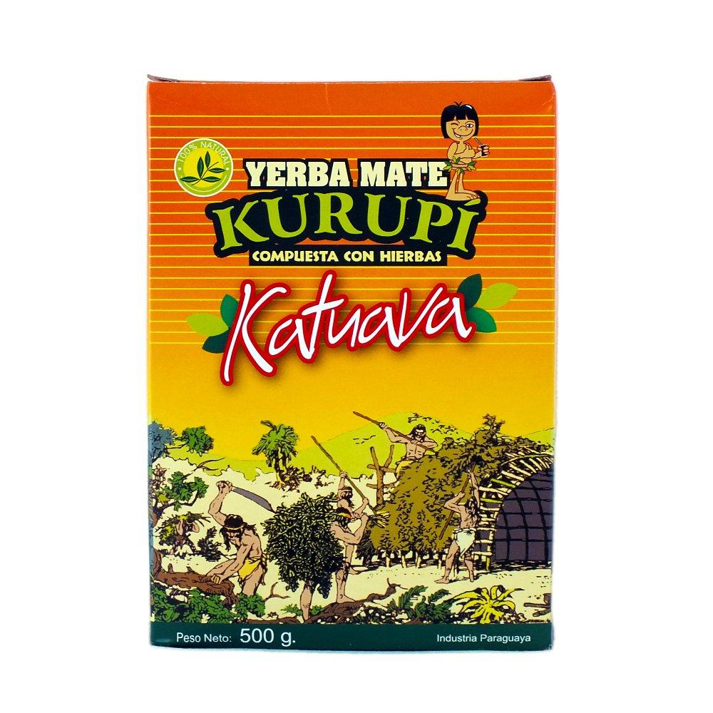 Yerba Mate Kurupi Katuava Especial 0,5kg 500g