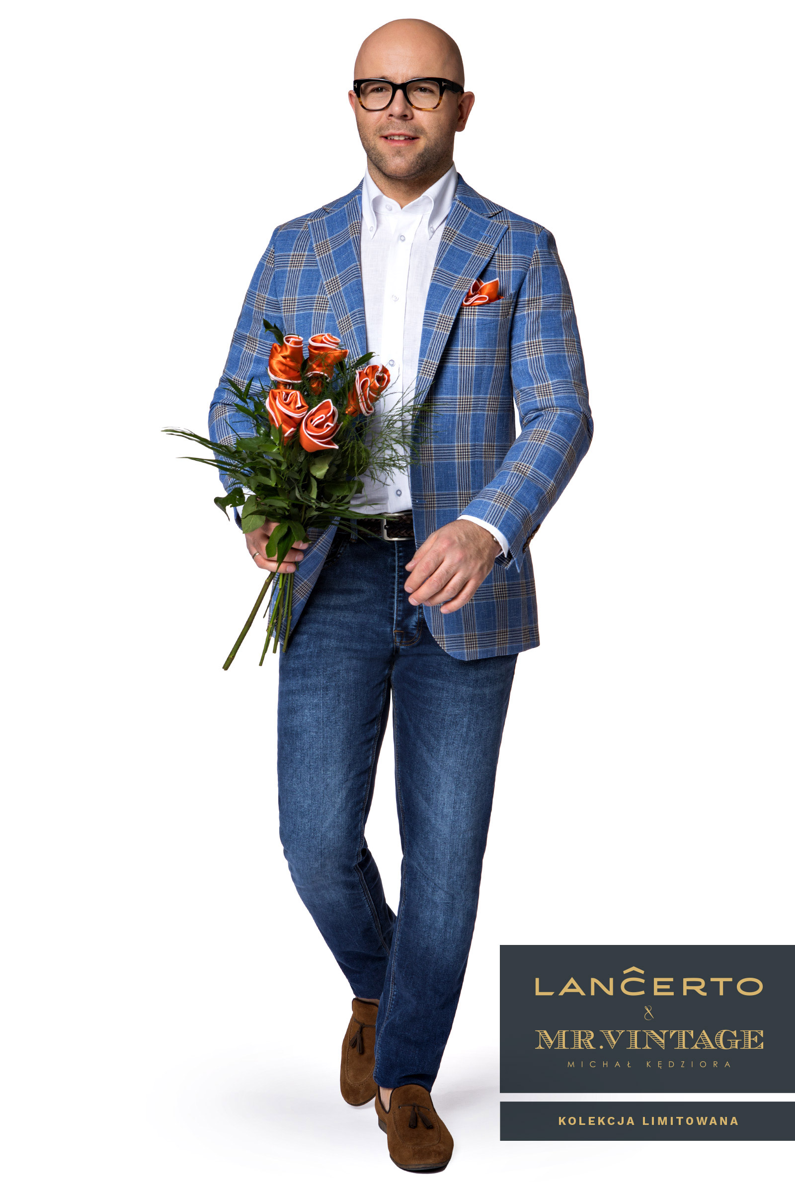 f057e1f93e335 Marynarka Lancerto&Mr.Vintage Mr.Stylish 52 7274476109 - Allegro.pl