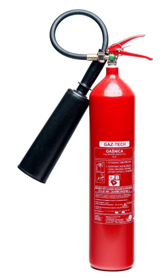 Snehový hasiaci prístroj 5kg GS-5x BCE až 245kv Gaz-Tech