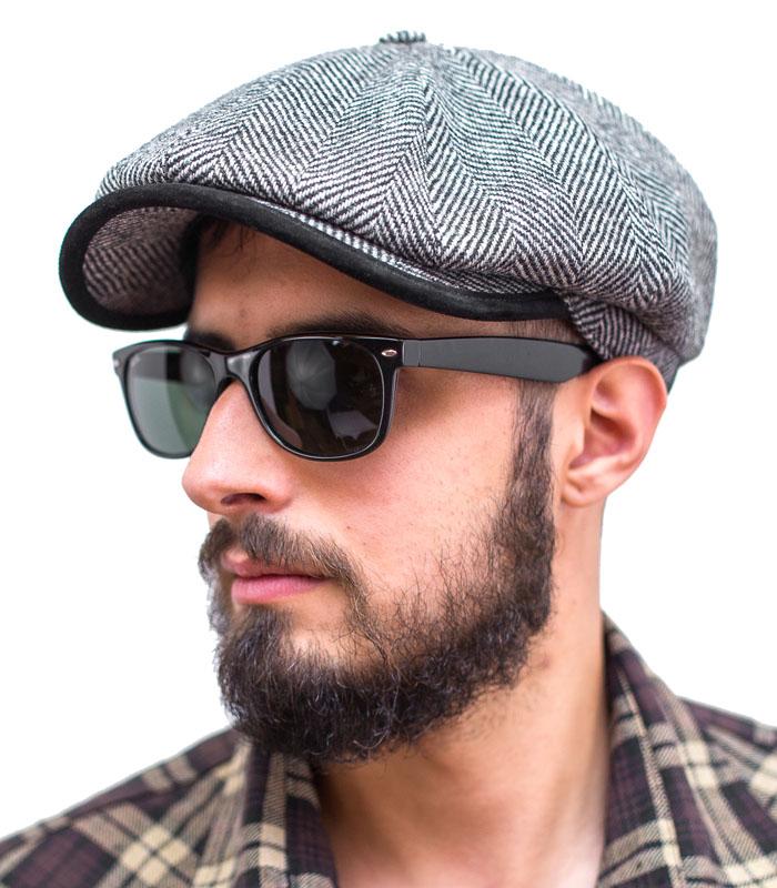 Купить Kaszkiet мужской Ретро Old School шапка, XL на Otpravka - цены и фото - доставка из Польши и стран Европы в Украину.