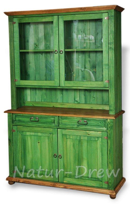 100% Príborník z masívneho dreva Retro krásna domáca dekorácia
