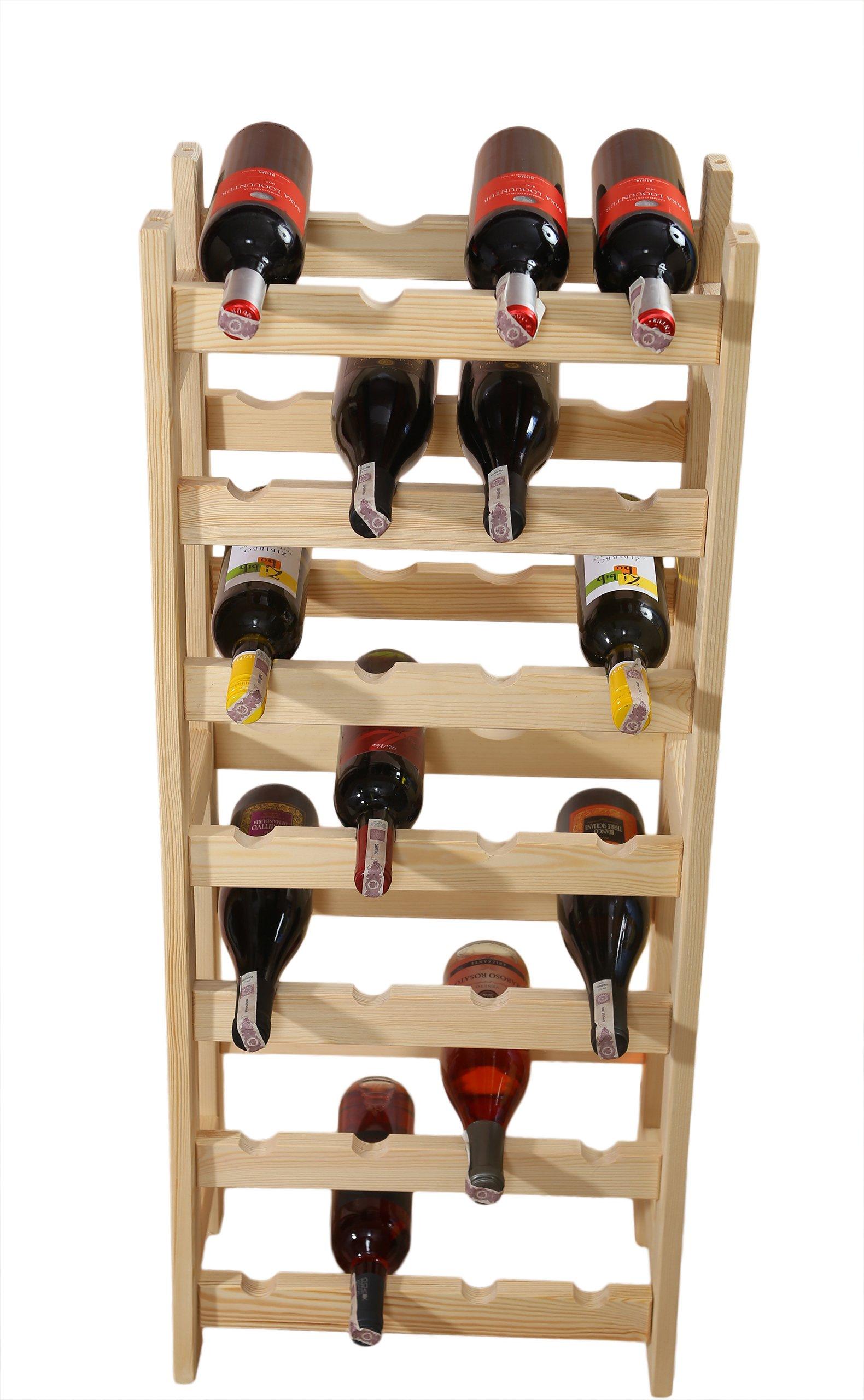 Стеллажи, винный стеллаж 28 бутылок (4х7), производитель