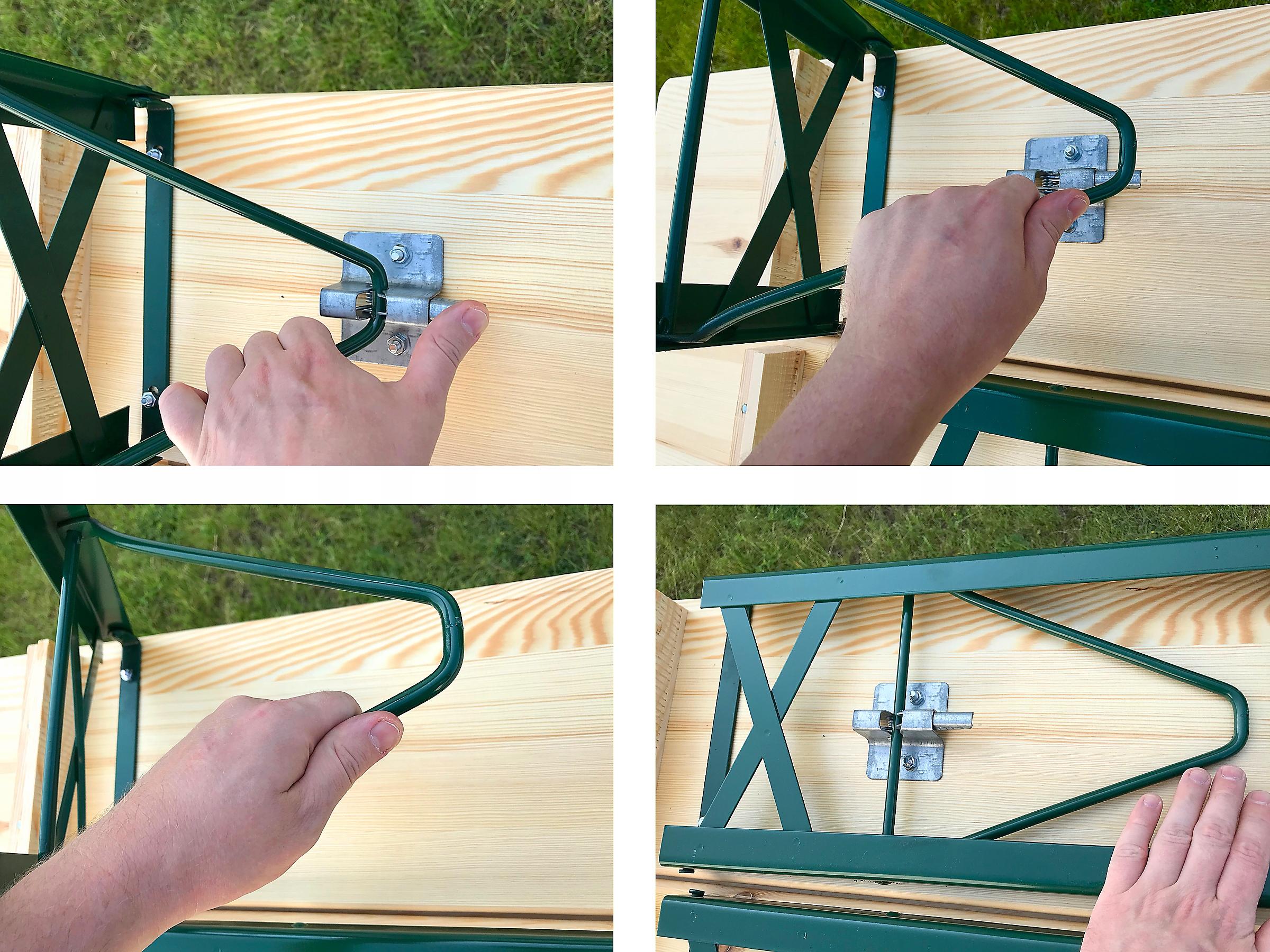 lavičky, hodové lavičky záhradná lavička EAN 5907653830525