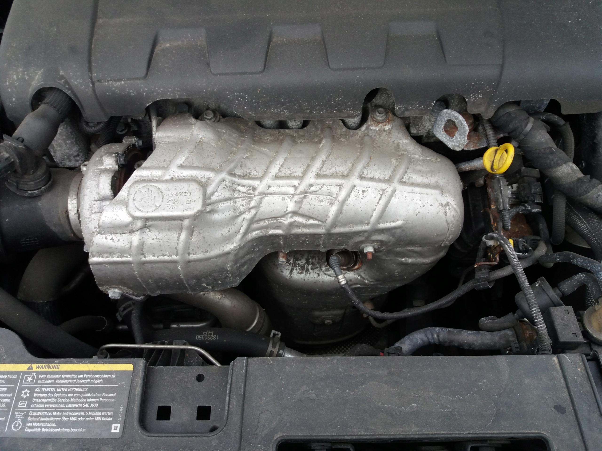 крышка термическая катализатора комплект insignia 20
