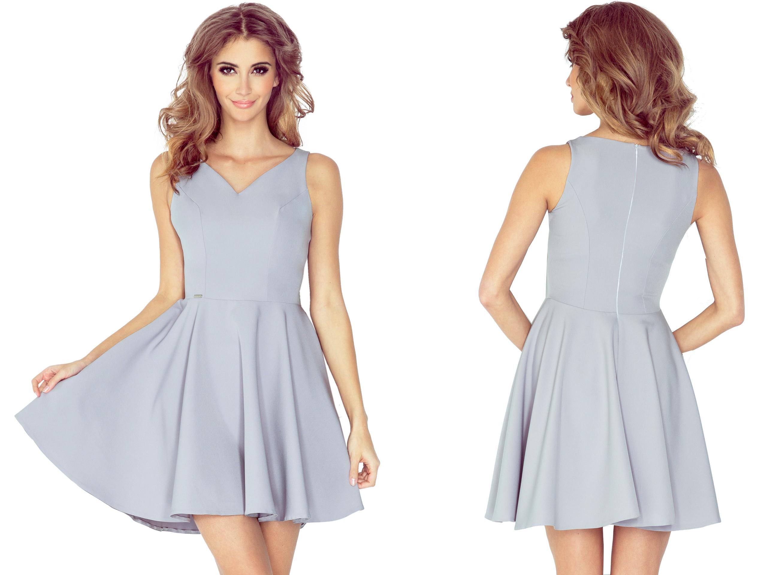 2518c6bc4f MODNA Młodzieżowa Sukienka KOKTAJLOWA 014-3 L r.40 7209056762 - Allegro.pl