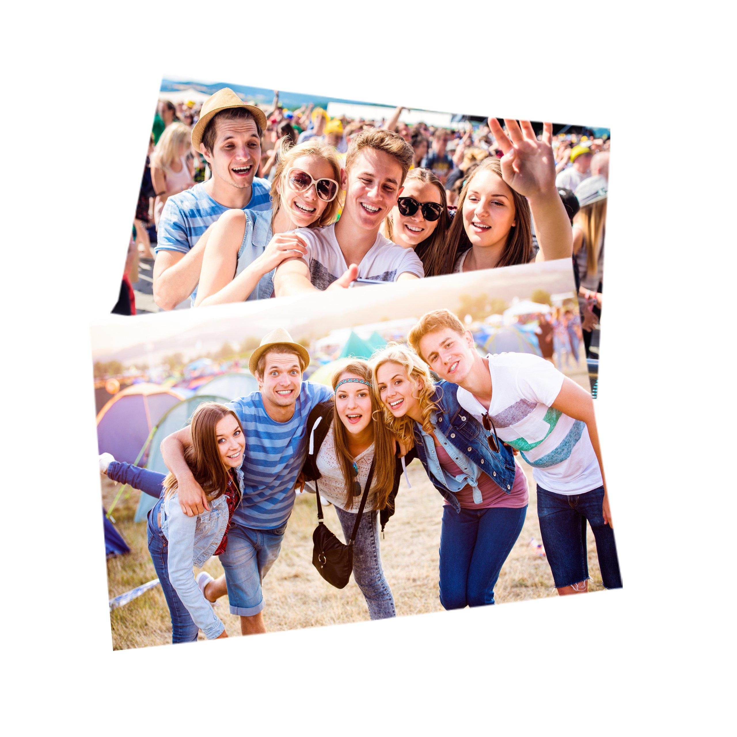 Item 100 photos 10x15 call call prints
