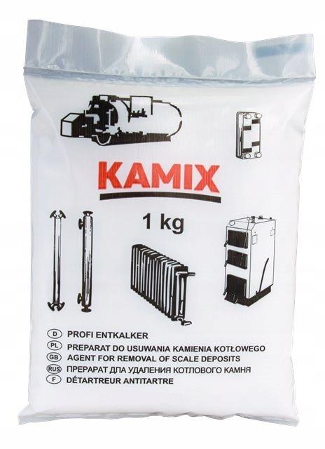 KAMIX для установки (1кг) - эффективен для удаления накипи