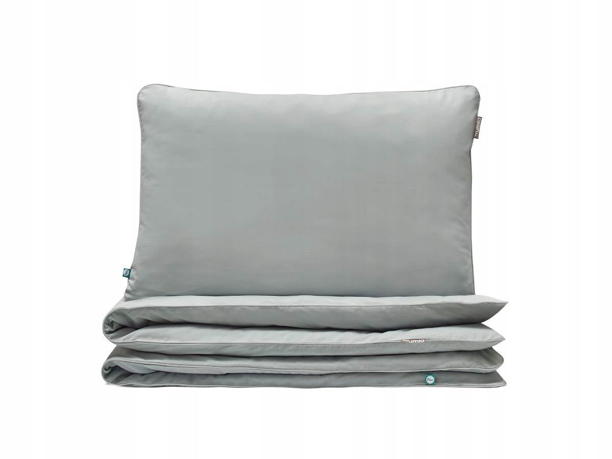 Obliečky bavlna 90x120+40x60 sivá obliečky