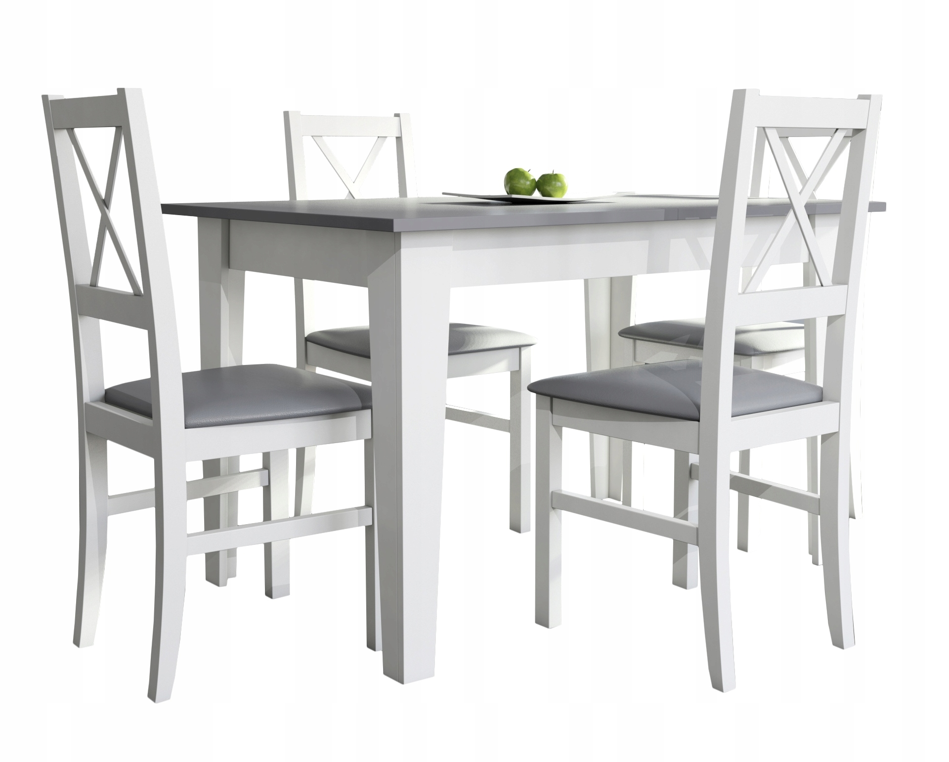 Маленький комплект для кухни стол 80x120x165 и 4 стулья