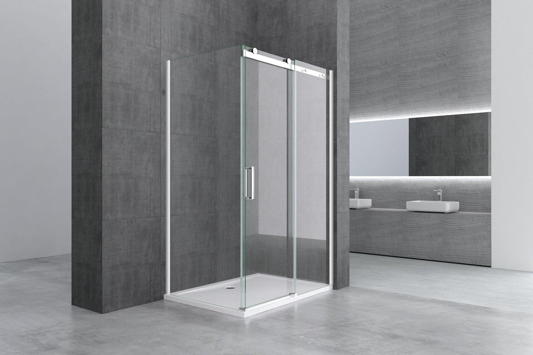Retractable shower door asme b16 9