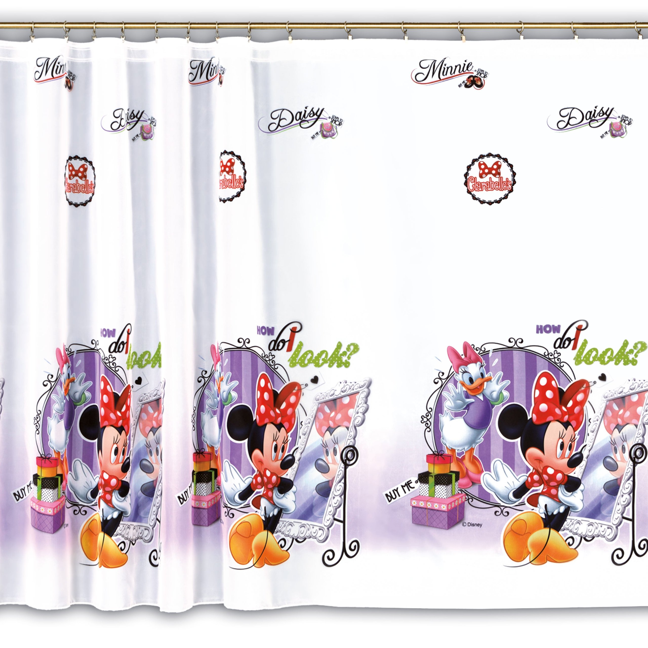 MG CURTAIN вуаль DISNEY MOUSE MINNIE DAF0 рост 160см