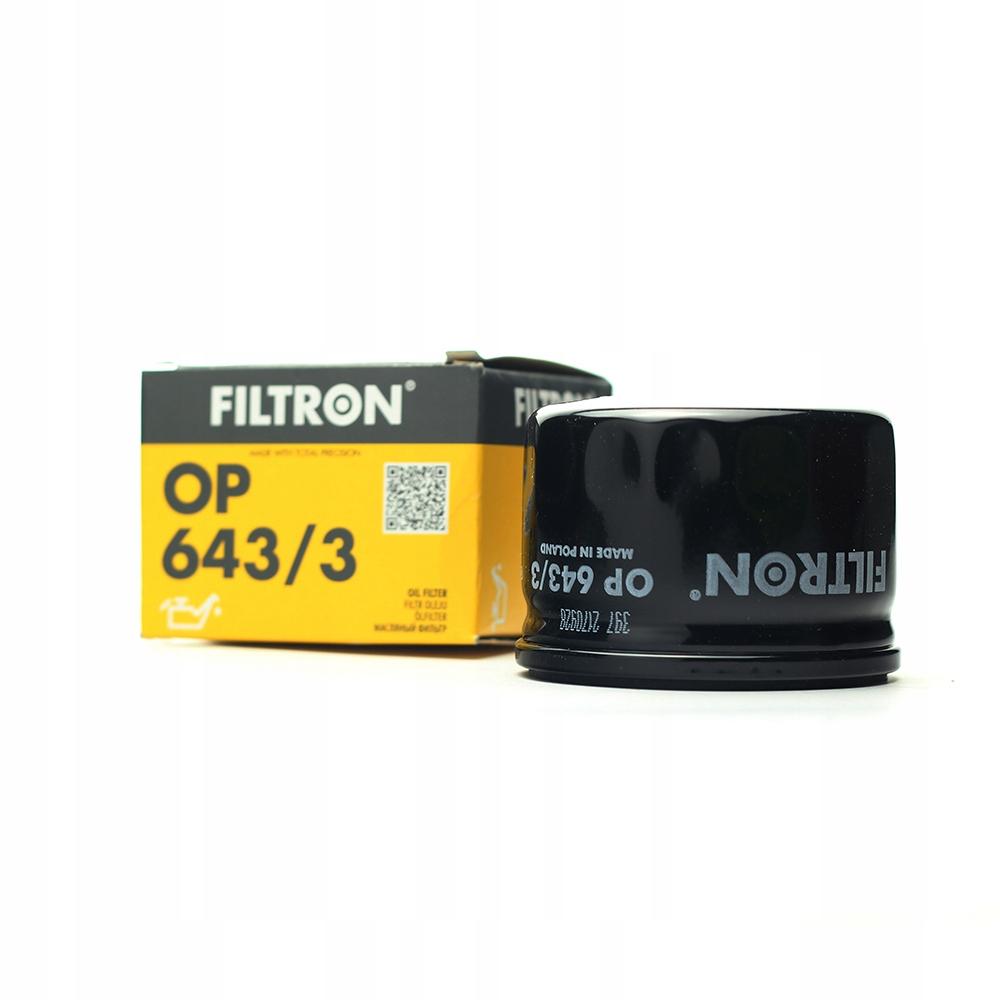 фильтр масла альфа nissan renault filtron op6433