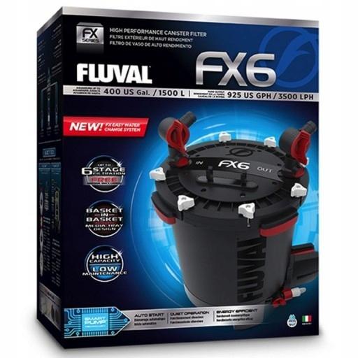 FLUVAL FX6 NEW МОДЕЛЬ 1500L+КАРТРИДЖИ+СГУСТИТЕЛЬ
