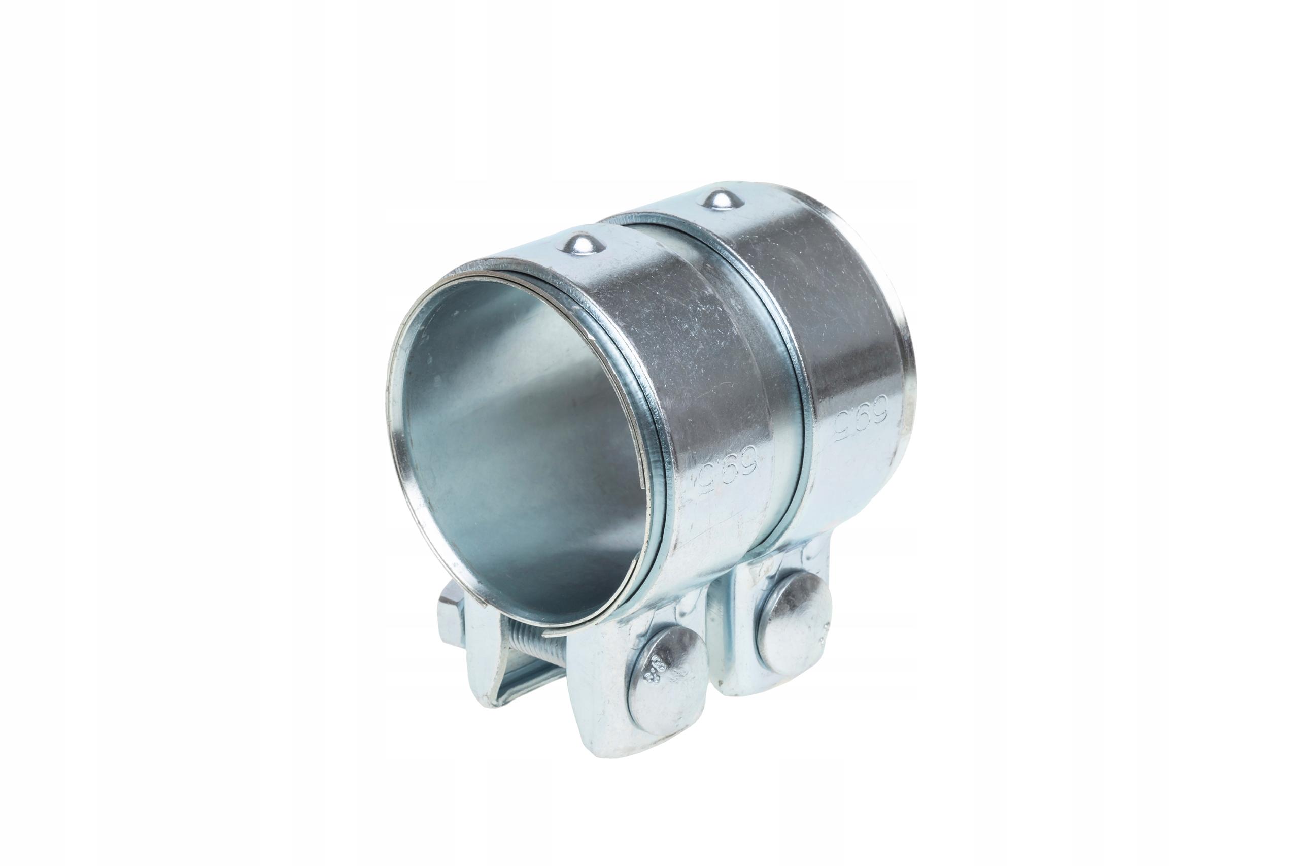 Соединитель разъем труб глушителя зажим 65x90 мм