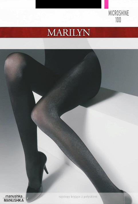 73371075646146 Kupić.pl - Allegro - Marilyn Rajstopy Grace n05 w romby Granat 1/2