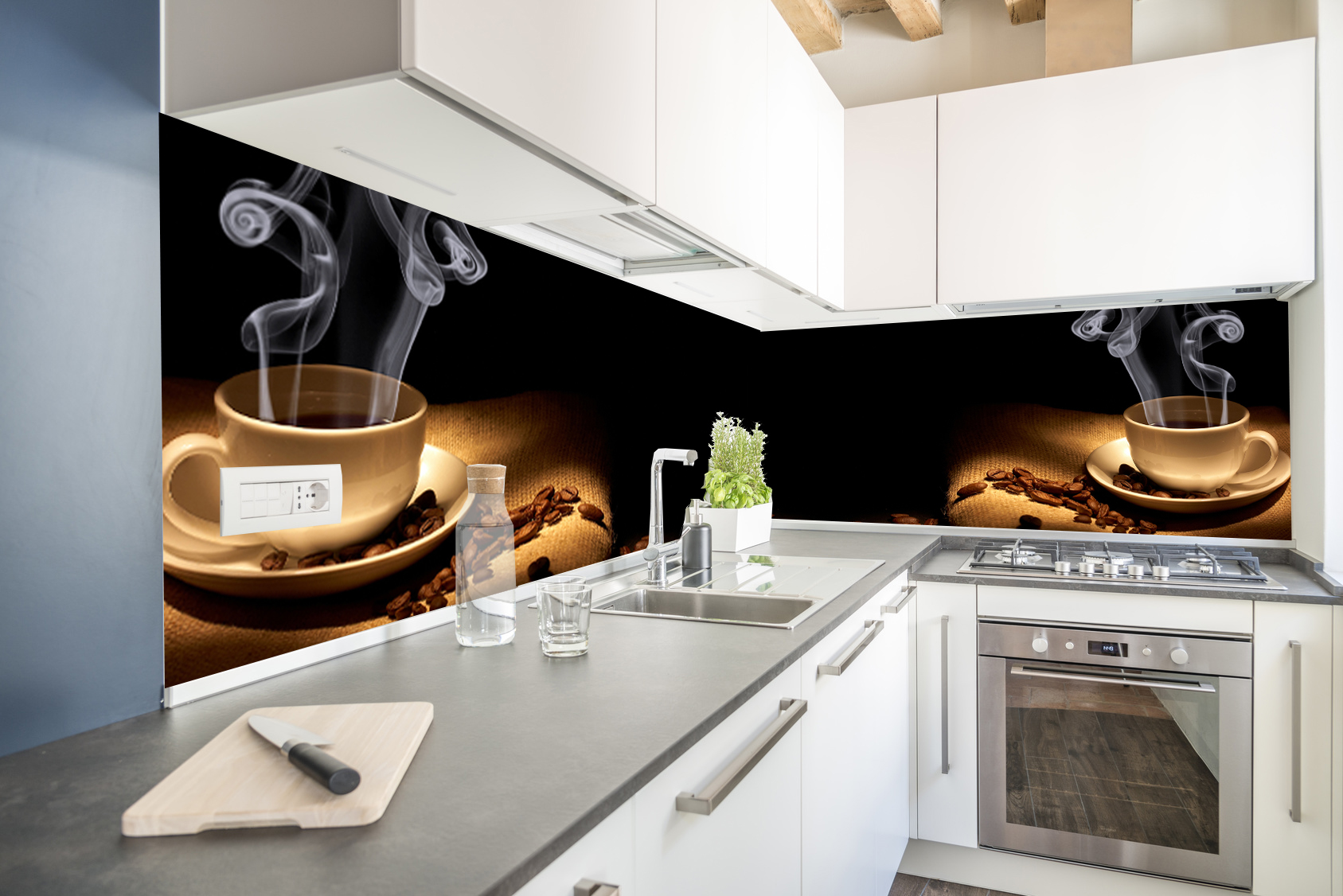 Кухонная наклейка кухонный шпон DURABLE Dimension