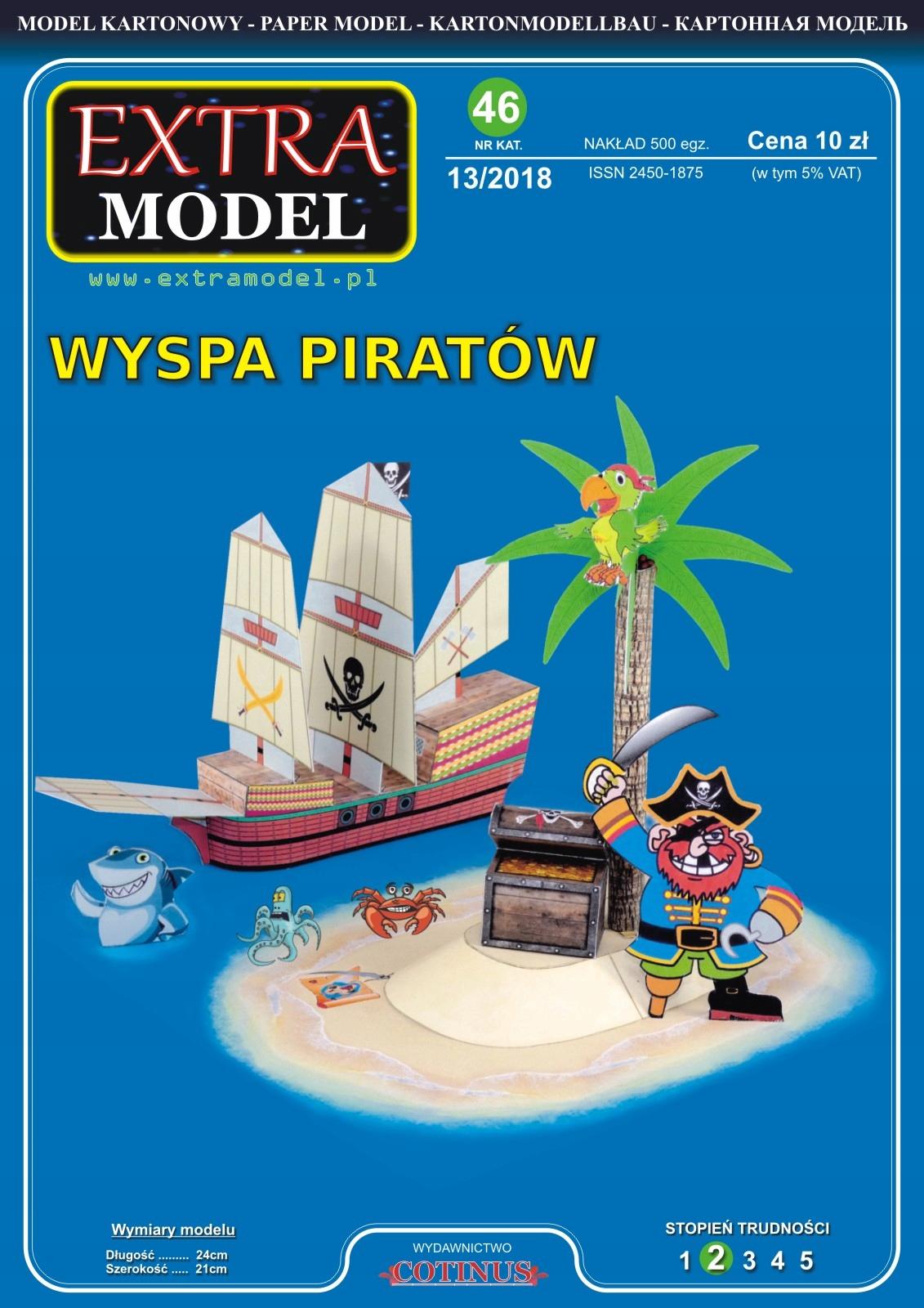 Item Magazine for children Extra Model_ Pirates Island